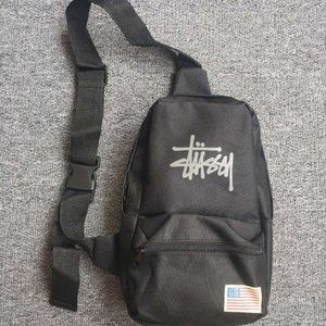 Stussy Crossbody Black Bag